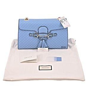 db33f800774e Gucci Bags   Emily Medium Leather Chain Shoulder Bag   Poshmark